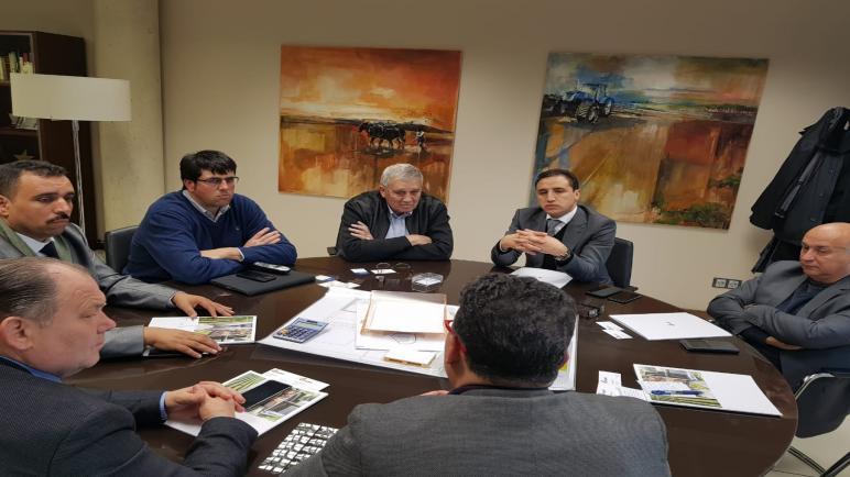 مجاهد رئيس جهة بني ملال خنيفرة يغري كاطالونيا الاسبانية  بمؤهلات الجهة لجلب الاستثمار
