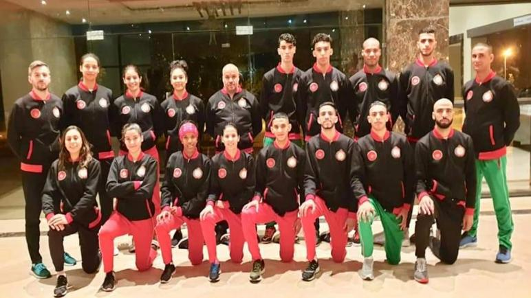 المنتخب المغربي للتايكواندو يقص شريط المنافسة ببطولة العالم في انجلترا