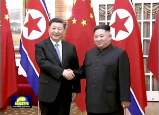 استقبال حار للرئيس الصيني في كوريا الشمالية في أول زيارة لرئيس صيني إلى هذا البلد منذ 14 عاما