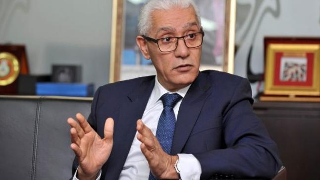 """الطالبي العلمي : """" المغرب رفع سقف التحديات بتنظيمه للألعاب الإفريقية """""""