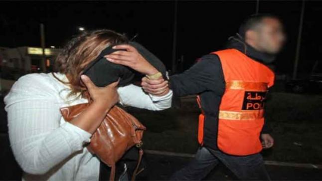 اعتقال ممثلة مغربية مشهورة و مخرج معروف متلبسين بالخيانة الزوجية