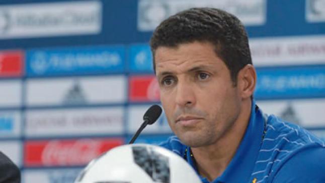 """عموتة : """"مباراة المنتخب المحلي أمام الجزائر لن تكون سهلة ويجب علينا الاستعداد لها""""."""