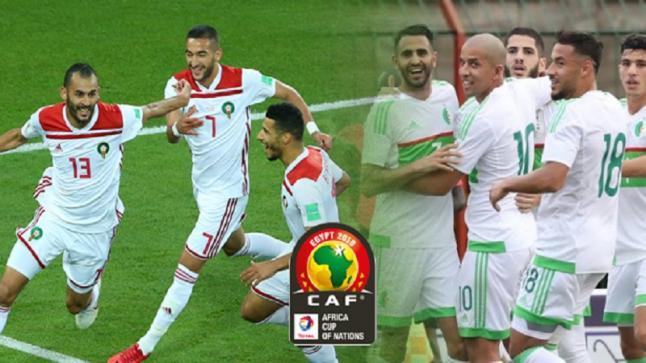 """حملة مشتركة """"خاوة خاوة"""" لتشجيع منتخبي المغرب والجزائر بالكان"""