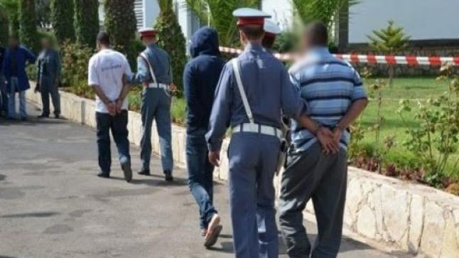 سطات : حملة أمنية تسفر عن اعتقال 30 مبحوثا عنه بأولاد أمراح