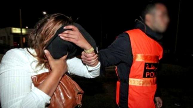 توقيف شابة على متن سيارة أجرة وبحوزتها كمية من المخدرات