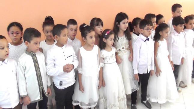 براعم وزهرات مدارس فيكتور هيجو ببني ملال يحتفون بذكرى المولد النبوي