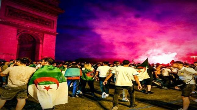 فرنسا : توقيف 282 شخصا إثر تجاوزات على هامش الاحتفال بتأهل الجزائر لنهائي الكان