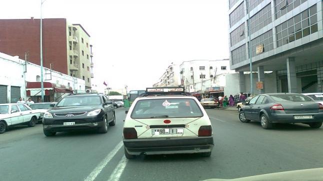 ضبط مفتش شرطة ممتاز متلبس بنقل الركاب بدون رخصة