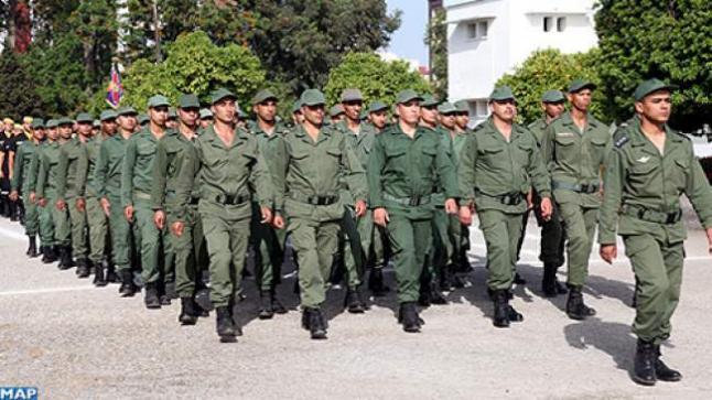 انطلاق عملية تكوين أول فوج للخدمة العسكرية بمراكز القوات المسلحة الملكية