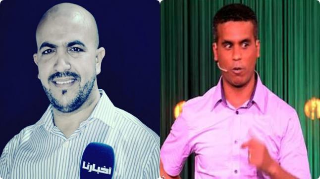 بالصور..عبد الفتاح جوادي يهدد صحفي بالتصفية الجسدية