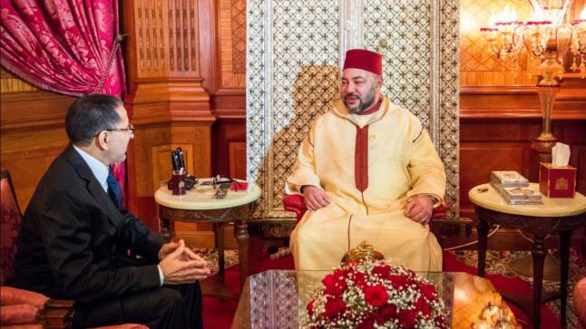 عاجل الملك يستقبل العثماني بالقصر الملكي بالرباط