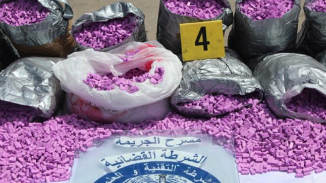 """إعتقال شخصين أحدهما بحوزته 8 ألاف قرص """"إكستازي"""" بالدار البيضاء"""