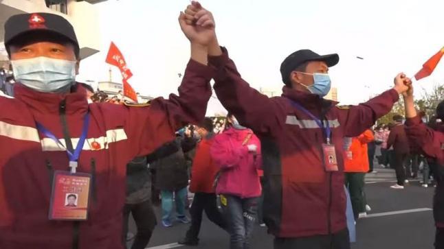 """الصين تنتصر على وباء """"كورونا"""""""
