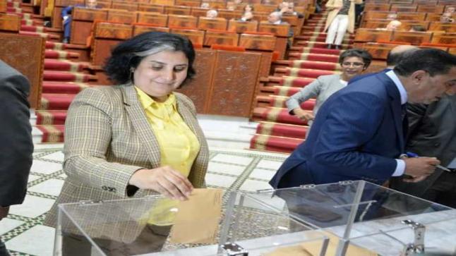 حنان رحاب القيادية والبرلمانية بالاتحاد الاشتراكي تدعم منتخبي الحزب بجهة بني ملال بعد تصريحات العسالي