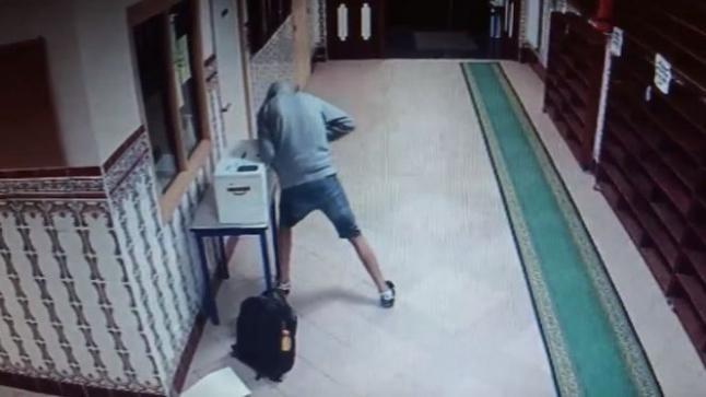 سرقة مسجد بطريقة احترافية بمرتيل