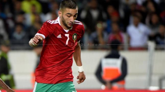 زياش يغادر معسكر المنتخب المغربي