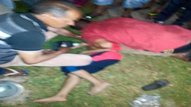 فيديو …الأسلاك العارية تقتل طفلا ببني ملال وغضب شعبي ضد المجلس البلدي للمدينة