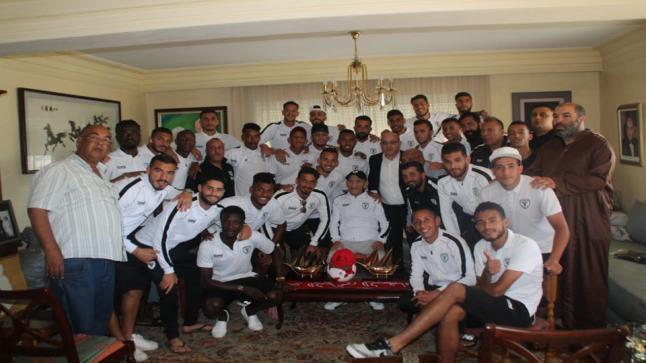 الاتحاد البيضاوي يوفي بوعده للمؤسس عبد الرحمان اليوسفي ويتأهل لنهائي كأس العرش