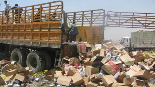 مصالح المراقبة تتلف مليون طن من المواد الغذائية الفاسدة خلال ثلاثة أشهر وتقدم 609 قضية للمحكمة