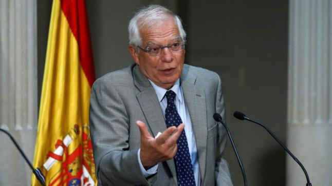 تعيين الاسباني جوزيف بوريل وزيرًا لخارجية الاتحاد الأوروبي يثير حفيظة إسرائيل