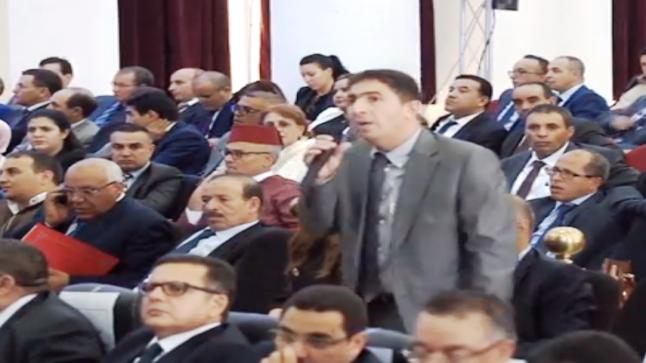 فيديو …الفرقة الوطنية تعتقل رئيس مريرت و البرلماني السابق محمد عدال بعد رفضه الحضور لمحكمة جرائم الأموال