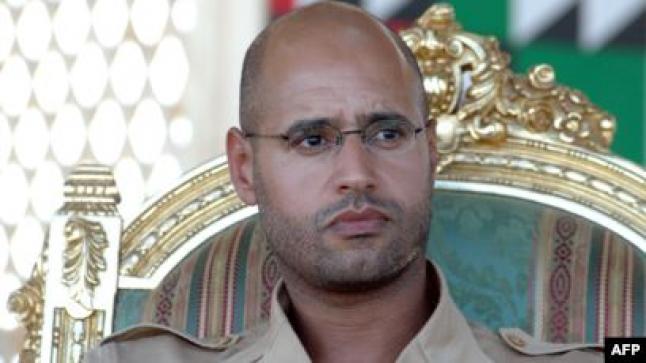 المحكمة الجنائية الدولية ترصد مكان نجل القذافي