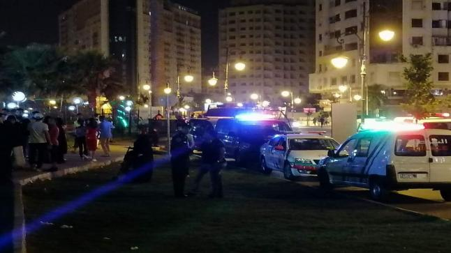 بالصور..إصابة 22 طفلا في حادث سقوط آلة بفضاء العاب بطنجة