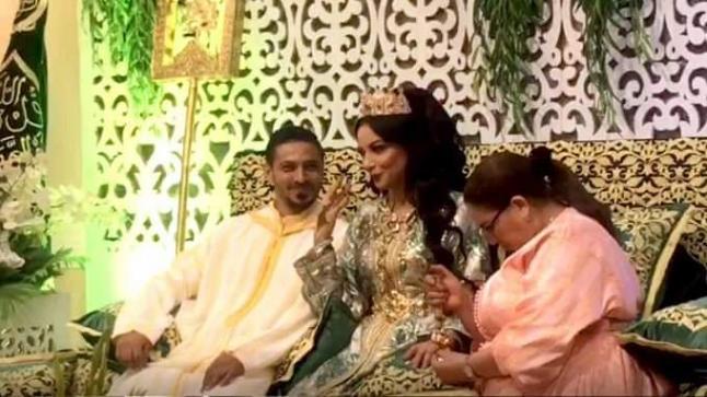 """لبنى أبيضار بطلة """"الزين اللي فيك"""" تحتفل بزفافها للمرة الثالثة"""