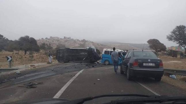مؤلم..حادثة سير تودي بحياة إمام مسجد بنواحي الرحامنة