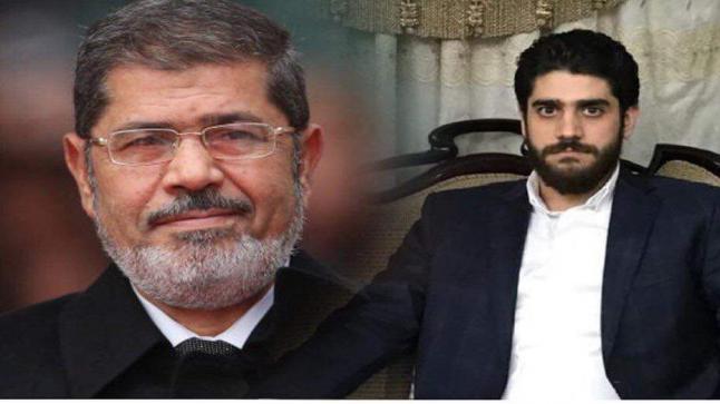 وفاة نجل الرئيس مرسي بسكتة قلبية