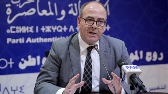 بلاغ للأمين العام لحزب الأصالة والمعاصرة