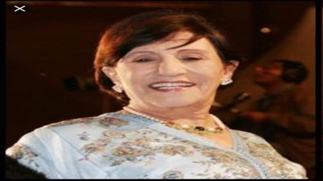 وفاة الفنانة المغربية أمينة رشيد