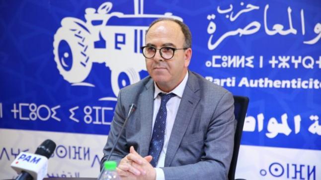 بنشماش يتبرأ من لقاء طنجة ويذكر الداخلية بضرورة احترام المؤسسات