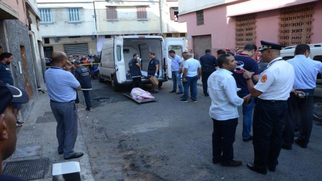 البيضاء : شاب يقتل أباه حرقا بمنطقة الرحمة