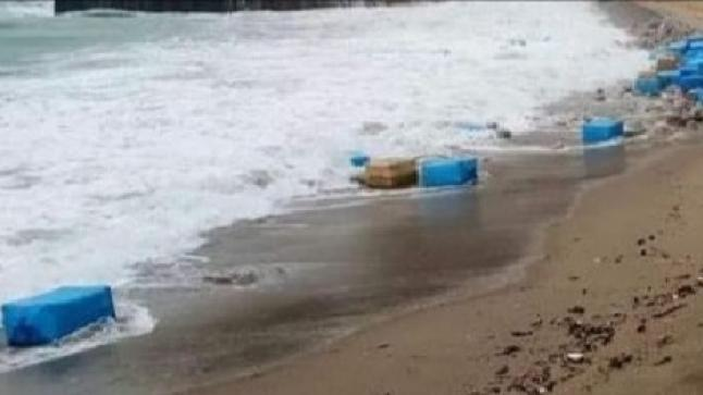 رزم كوكايين بشاطئ سيدي رحال