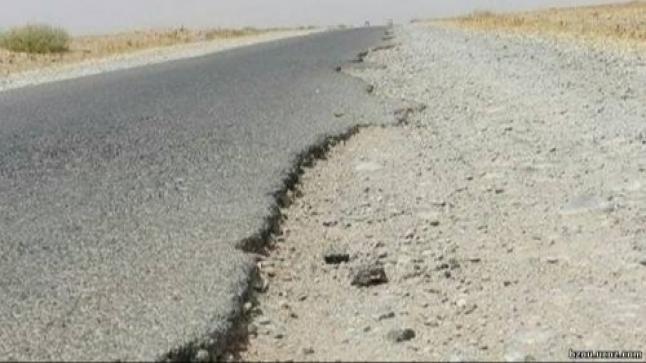 إستياء من وضعية الطريق الإقليمية بين أولاد امراح وإبن احمد