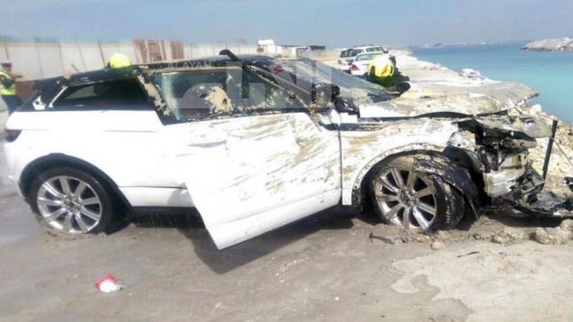 سقوط سيارة في البحر يخلف وفاة شابة وإصابة اثنين بجروح خطيرة بالداخلة