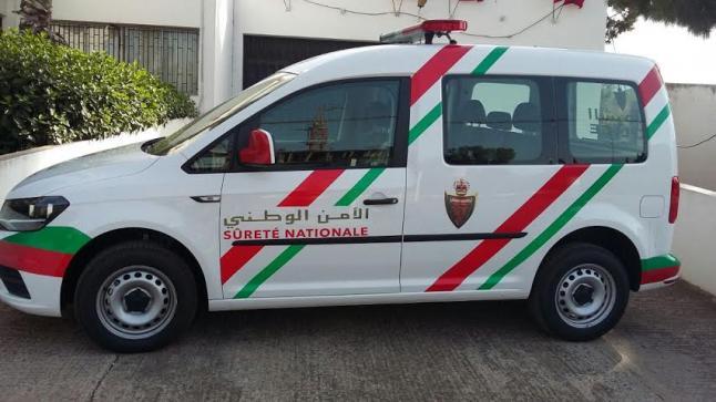 رجال الأمن الوطني بسوق السبت إقليم الفقيه بن صالح يقومون بمجهودات جبارة لتطبيق حالة الطوارئ الصحية