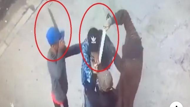 خطير.. 3 شبان ينهبون أستاذا بالقنيطرة بعد تهديده والاعتداء عليه بسكاكين شبيهة بالسيوف