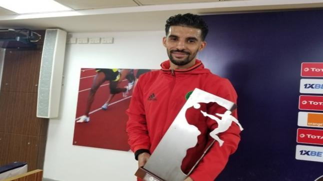 بوصوفة الرائع يتوج بجائزة أحسن لاعب في مباراة جنوب أفريقيا