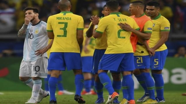 كوبا أميركا: البرازيل تهزم الأرجنتين وتبلغ النهائي