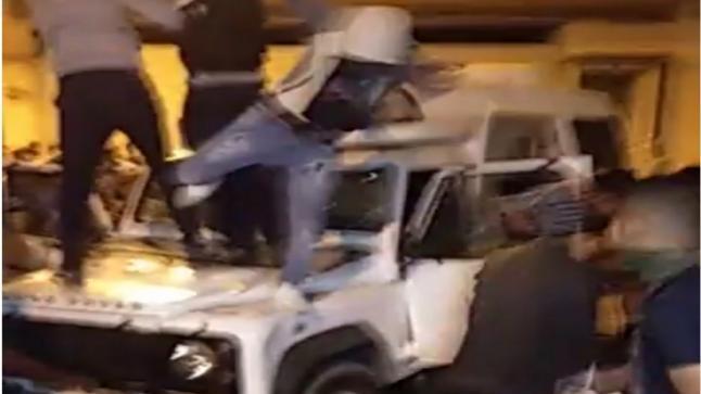 إنفصاليون يُحدثون فوضى عارمة بشوارع العيون خلال إحتفالات فوز منتخب الجزائر بالكان