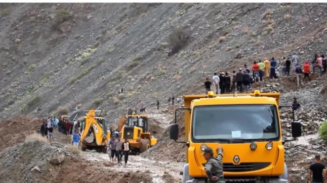 الحصيلة الرسمية… مصرع 15 شخصا إثر انجراف الأتربة وسيول بالحوز