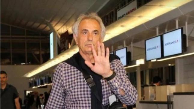 """""""وحيد حليلوزيتش"""" يصل إلى المغرب تمهيدا للإشراف على أسود الأطلس(صور)"""