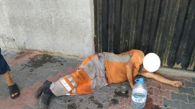 البيضاء…عامل نظافة يفارق الحياة أثناء مزاولة عمله