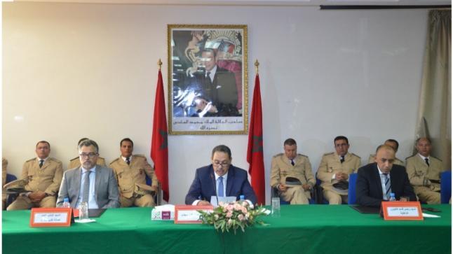 تنصيب عدد من رجال السلطة الجدد بعمالة سطات