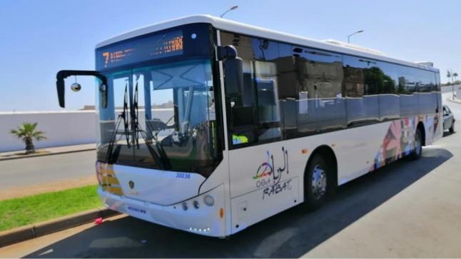 مجلس الرباط يعلق على حادث تخريب الحافلة الجديدة للنقل الحضري