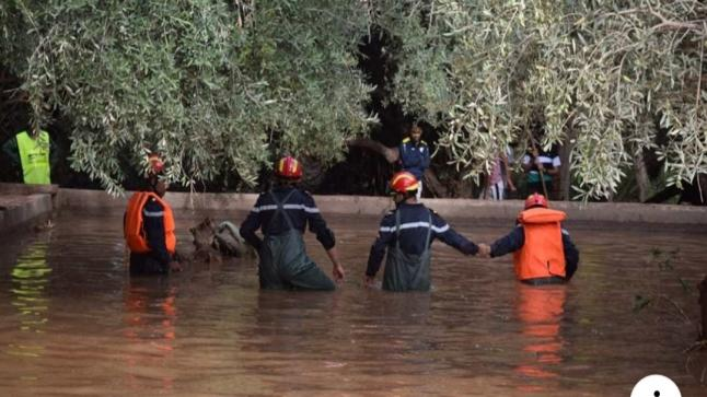 عاجل: إستنفارأمني بمنطقة فاجعة تارودانت وذلك بعد عودة منسوب مياه
