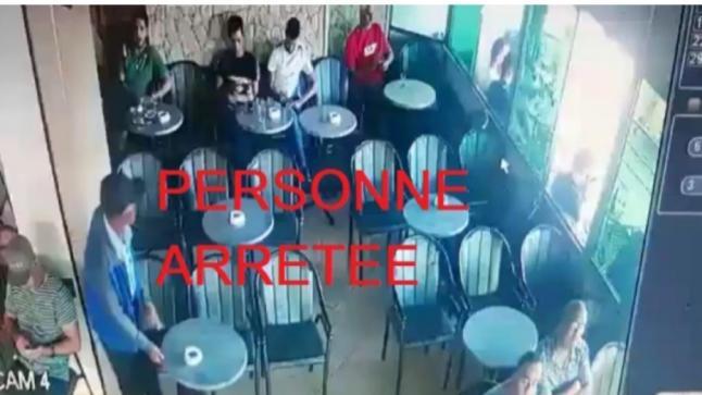 إعتقال شخص ظهر في فيديو وهو يعتدي على صاحب مقهى ببرشيد