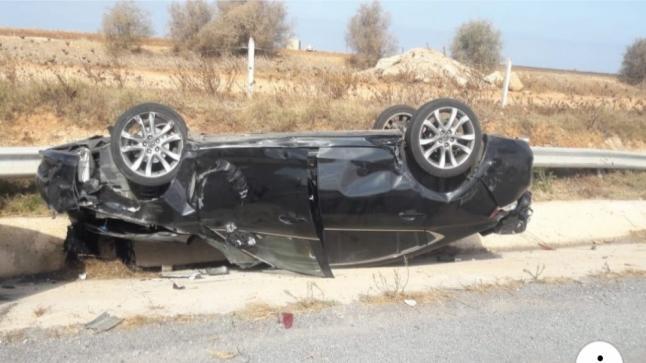 زوجة وزير في حكومة العثماني تقع ضحية حادثة سير خطيرة والسيارة مسجلة باسم رئاسة الحكومة